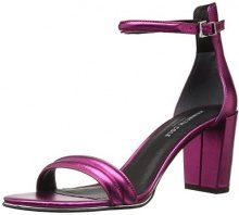 Kenneth Cole Lex, Sandali con Cinturino Alla Caviglia Donna, Rosa (Pink), 41 EU