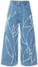 Christian Wijnants - Jeans cropped - women - Cotone - 38 - BLUE