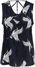ONLY Printed Sleeveless Top Women Blue