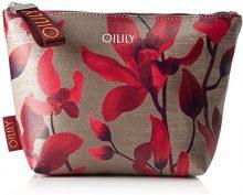 Oilily Jolly Cosmeticpouch Mhz 1 - Pochette da giorno Donna, Rot (Dark Red), 7x18x28 cm (B x H T)