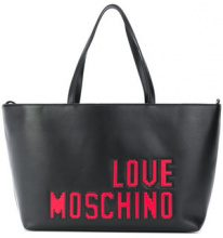 Love Moschino - Borsa Shopper - women - Polyurethane - One Size - BLACK
