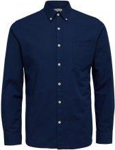 SELECTED Oxford - Long Sleeved Shirt Men Blue