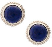 Shinola - stud stone earrings - women - Silver - OS - BLUE