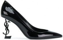 Saint Laurent - Pumps 'Opyum' - women - Patent Leather/Leather - 36, 36.5, 37, 37.5, 38, 38.5, 40, 35.5, 35, 39 - BLACK