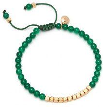Lola Rose Donna    ottone Rotonda   verde Agata FASHIONNECKLACEBRACELETANKLET