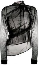 Rick Owens Lilies - Blusa trasparente - women - Polyamide/Spandex/Elastane - 38, 40, 42 - BLACK