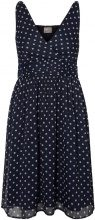 VERO MODA Feminine Sleeveless Dress Women Blue