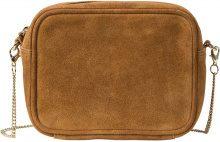 Borsetta a tracolla in pelle (Marrone) - bpc bonprix collection