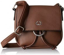Gerry Weber Flash Over Shoulderbag Svf - Borse a tracolla Donna, Braun (Cognac Old), 4x16x18 cm (B x H T)