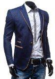 BOLF - Giacca - Blazer - Bottoni - Elegante - Classico - RIPRO BRB 011 - Uomo