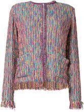 Etro - Giacca in tweed - women - Cotton/Acrylic/Polyamide/Viscose - 42, 44, 40 - MULTICOLOUR