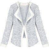 EA Selection giacca da donna Maglione a maglia corta invernale cappotto