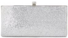 Jimmy Choo - Clutch 'Celeste' - women - Metallic Fibre/Brass - One Size - METALLIC