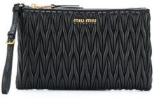 Miu Miu - Beauty case - women - Leather - OS - Nero