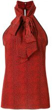 Philosophy Di Lorenzo Serafini - Top stampato - women - Silk - 42 - RED