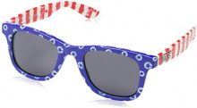 Vans Janelle Hipster Sunglasses, Occhiali da sole Donna, Blu (Dyed Dots Stripes Blue/Red), Taglia unica (Taglia Produttore: One Size)