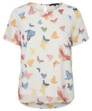 VERO MODA Butterfly T-shirt Women White