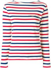 Maison Labiche - Maglione a righe - women - Cotton - XS - MULTICOLOUR