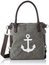 Bags4Less Anker-mini - Borse a spalla Donna, Grau (Washed-grau), 34x20x32 cm (B x H T)