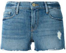 Frame Denim - Jeans con effetto invecchiato - women - Cotone/Spandex/Elastane - 27, 29 - Blu