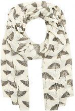 PIECES Pcnala Long Scarf, Sciarpa Donna, Multicolore (Whitecap Gray), Taglia unica