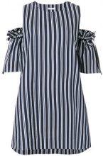 P.A.R.O.S.H. - Vestito a righe - women - Cotone/Polyester - M, XS, S, L - BLUE