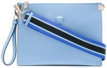 Versace - Borsa Clutch 'Medusa' - women - Leather - OS - BLUE