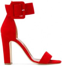 Paris Texas - buckled sandals - women - Leather/Suede - 36, 36.5, 37, 37.5, 38, 38.5, 39.5, 40, 35 - RED
