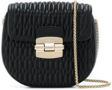 Furla - Borsa a spalla trapuntata - women - Leather - OS - BLACK