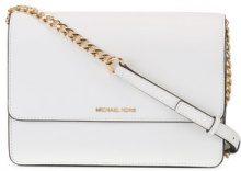 Michael Kors Collection - Borsa a tracolla grande 'Daniela' - women - Calf Leather - OS - WHITE