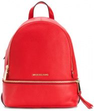 Michael Michael Kors - Rhea backpack - women - Leather - One Size - RED