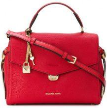 Michael Michael Kors - Bristol leather satchel - women - Leather - OS - RED