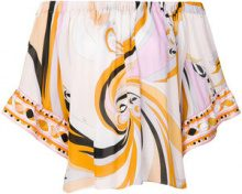 Emilio Pucci - Blusa - women - Silk - 38, 40, 42, 44, 46, 48 - MULTICOLOUR