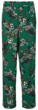 VERO MODA Hw Flower Trousers Women Green