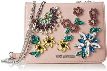 Love Moschino Nappa Pu Rosa - Borse Baguette Donna, (Pink), 9x15x21 cm (B x H T)