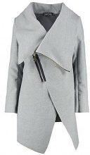 Lola Zip Up Wool Look Coat