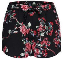 ONLY Printed Shorts Women Black