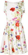 Blugirl - Vestito con stampa a fiori - women - Cotton/Polyester/Spandex/Elastane - 42, 44 - WHITE