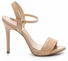 Sandali con tacchi a spillo, pelle verniciata, Jadia Ver