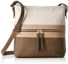 Tom Tailor Acc Marit Donna Borse a tracolla Beige (Taupe) 8x30x31 cm (B x H x T)