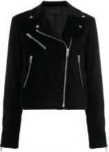 Rag & Bone - biker jacket - women - Cotton/Cupro - S, L - BLACK