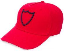 Htc Los Angeles - Cappello da baseball con logo - women - Cotone/Polyester - OS - RED