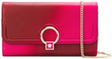 Versace - Medusa lock clutch - women - Calf Leather - OS - PINK & PURPLE