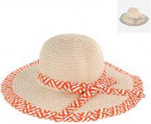 Cappello di paglia con fascia colorata