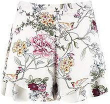 Keira Double Layer Floral Shorts