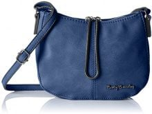 Betty Barclay BB-1017-CD, Borsa a spalla Donna, Blu (Blu (navy 106)), 7x15x20 cm (B x H x T)