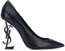 Saint Laurent - Opyum 110 Décolleté pumps - women - Lamb Skin/Leather - 35, 35.5, 36, 36.5, 37, 37.5, 38, 38.5, 39, 40 - BLACK
