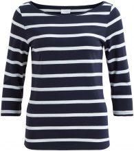 VILA Striped 3/4 Sleeved Top Women Blue