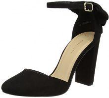New Look Safety, Scarpe con Cinturino alla Caviglia Donna, Nero (Black), 36 EU