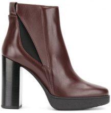Tod's - Stivaletti altezza caviglia - women - Calf Leather/Leather/Foam Rubber/Polyester - 36, 37, 37.5, 40 - PINK & PURPLE